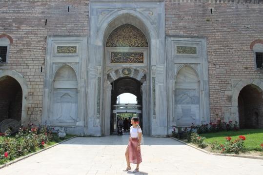 Palacio Topkapi puerta principal