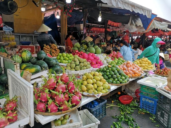 Fruta en Central Market