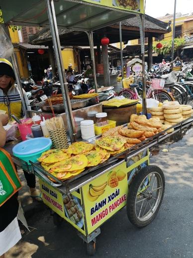 Puesto de street food en Central Market